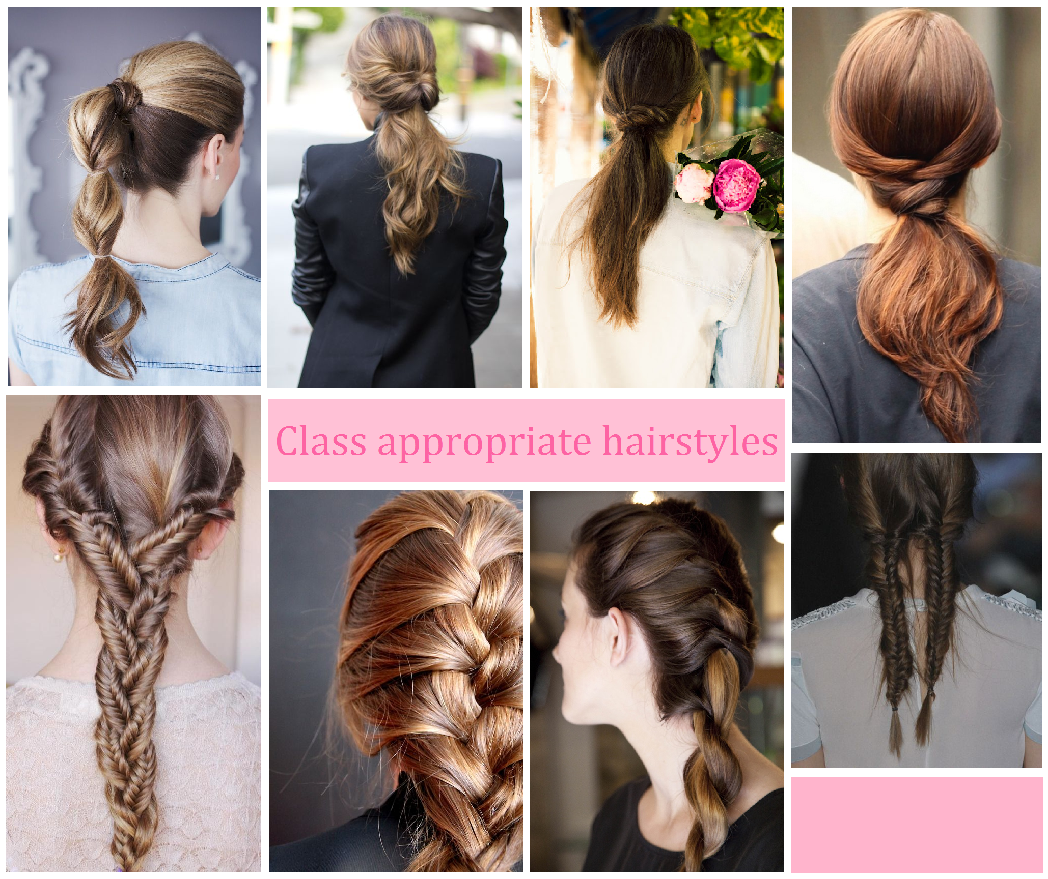 Easy Hairstyles For School Tied Up Haircuts