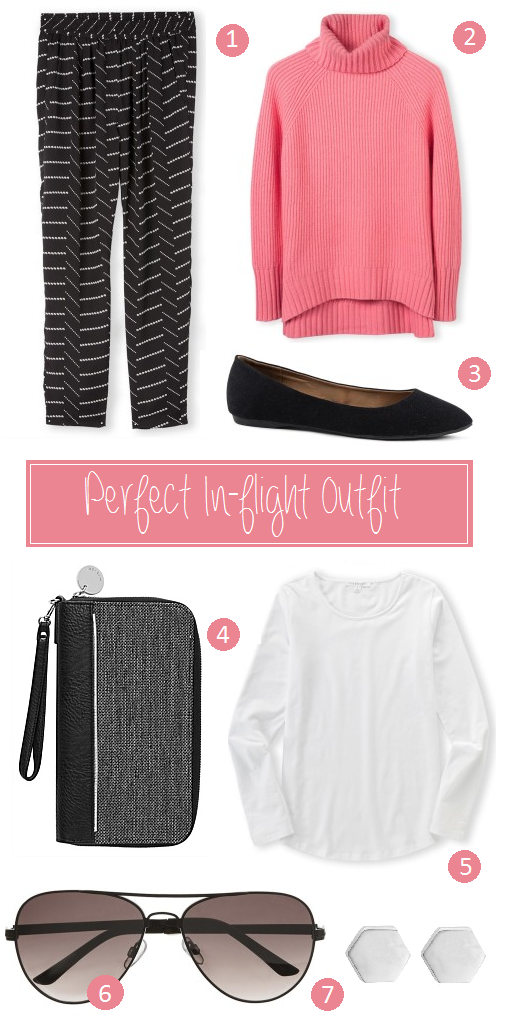Perfect In-flight outfit