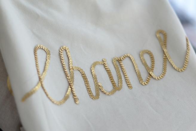 DIY Sequin Chanel Tote